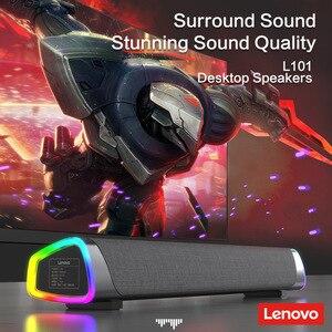 Image 5 - Lenovo L101ลำโพงคอมพิวเตอร์สเตอริโอ Surround ลำโพงซับวูฟเฟอร์สำหรับแล็ปท็อป Macbook Notebook PC Player สายลำโพง
