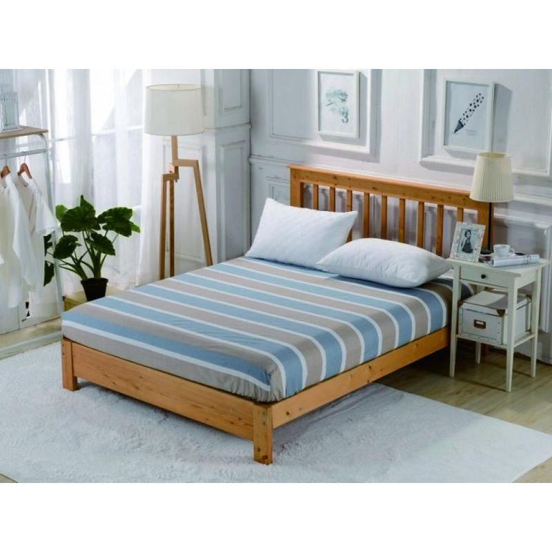Bed Sheet with elastic band Valtery, 238, 200*220 cm