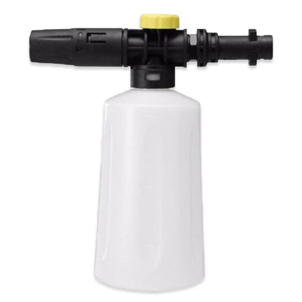 Pistolet à mousse pour la série Karcher K | Buse de Lance à mousse de neige pour LAVOR nettoyeur haute pression, générateur de mousse à savon de 750ML pistolet de nettoyage de voiture