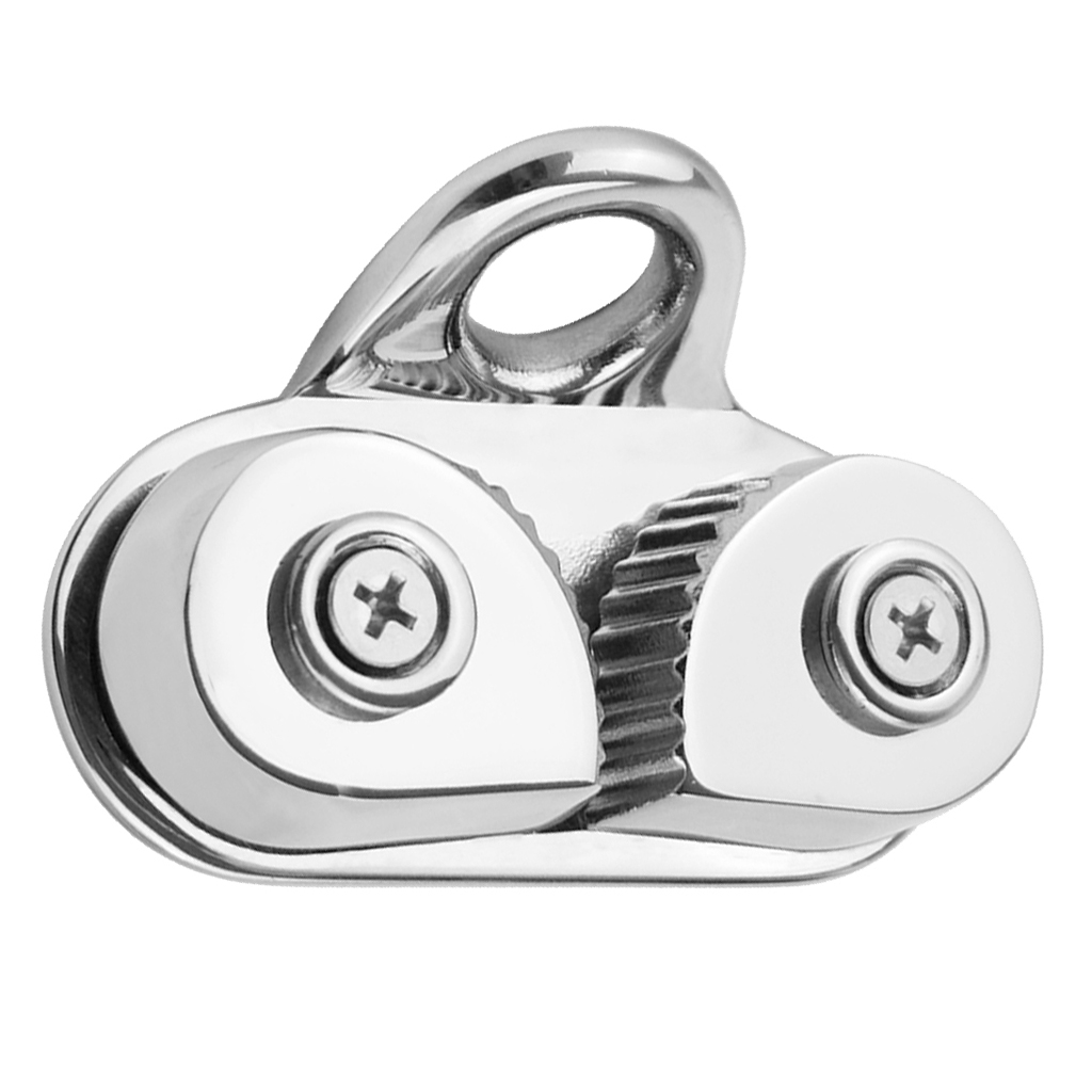 Stainless Steel Cam Cleat With Leading Ring -Marine Sailing Hardware