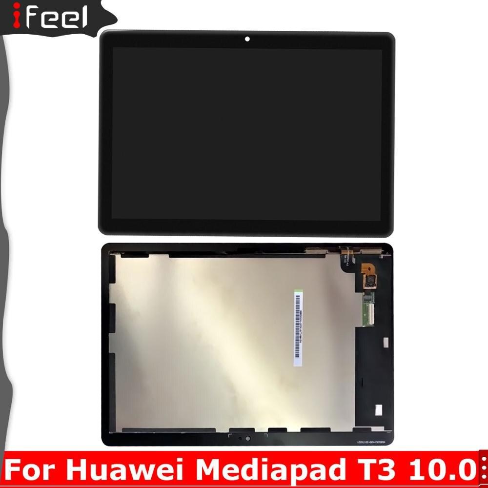 Montaje de pantalla LCD para Huawei Mediapad T3 10 AGS-L03 AGS-L09 T3, montaje de digitalizador con pantalla táctil