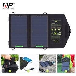 Semua Kekuatan Panel Tenaga Surya/Solar Panel 10W 5V Solar Charger Portabel Surya Baterai Charger Pengisian untuk Ponsel untuk Hiking. Di Luar Ruangan.