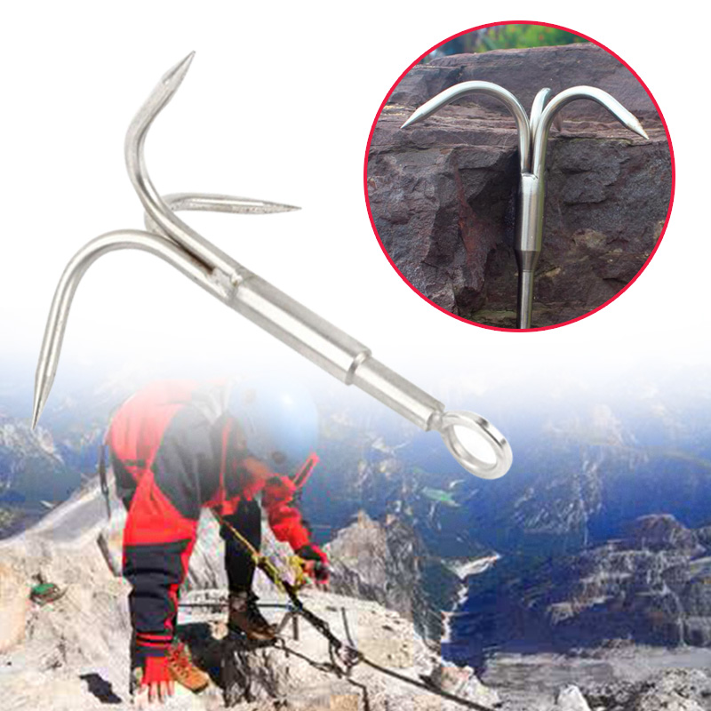 Anchor Hook Clasp Grappling Tackle For Boat Fishing Mountaineering Climbing image