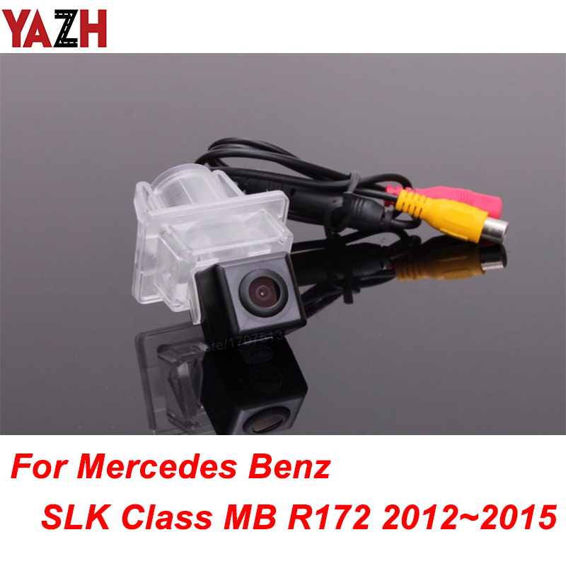 Wireless CCD Track Car Rear View Camera For Mercedes <font><b>Benz</b></font> <font><b>SLK</b></font> Class MB <font><b>R172</b></font> Camera Track line Night Vision LED Light Waterproof image