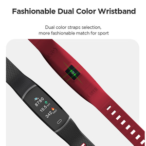 "Image 5 - Lenovo Smart Wristband HX11 0.96"" Heart Rate Monitoring Band 3D Color Screen Sports Smart Watch Weather Display Smart Reminder"