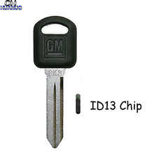 Transponder Chevy Buick Id13-Chip Uncut-Blade Mini with for GM Pk3-Key-Ignition Van