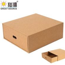 Складной ящик для хранения органайзер из гофрированного материала