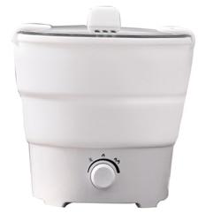 Składana patelnia elektryczna czajnik podgrzewany pojemnik na jedzenie podgrzewane pudełko na lunch kuchenka przenośna wielofunkcyjna kuchenka termiczna US Plu w Parowary elektryczne od AGD na