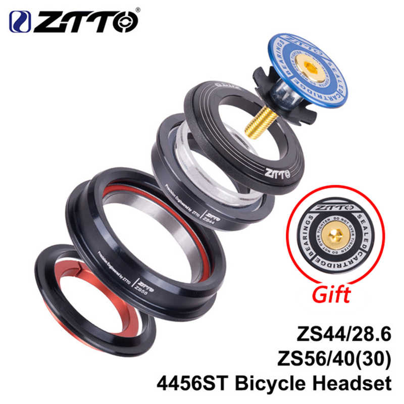 "Lixada Bicycle Headset MTB Road Bike CNC Tapered Sealed Cartridge Bearing 1-1//8/"""