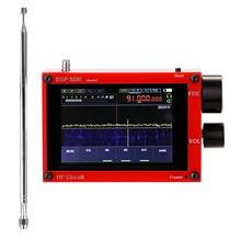 Ricevitore USB 50kHz-200MHz schermo IPS toccante da 3.5 pollici ricevitore SDR Software HAM Radio precise UHF Radio definita DSP Malachite