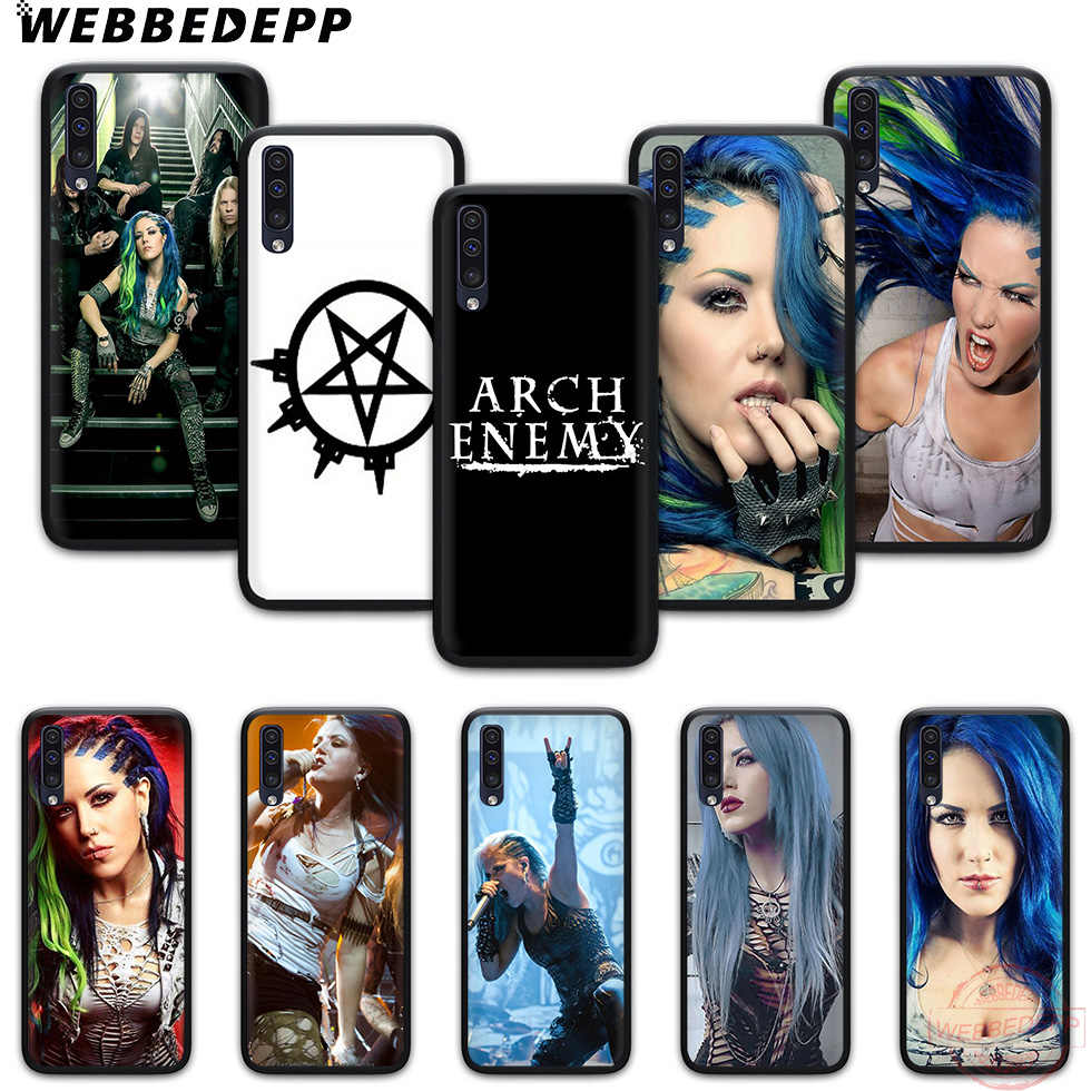 WEBBEDEPP Arch Enemy Soft Phone Case for Samsung A10S A6 7 8 9 A10 20 A40 A50 A60 A70S M10 M20 30