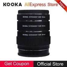 цена на Macro AF Metal Extension Tube Set Auto Focus TTL Exposure 12mm 20mm 36mm Kit DSLR Camera Lens Adapter Ring for Sony A-Mount Lens
