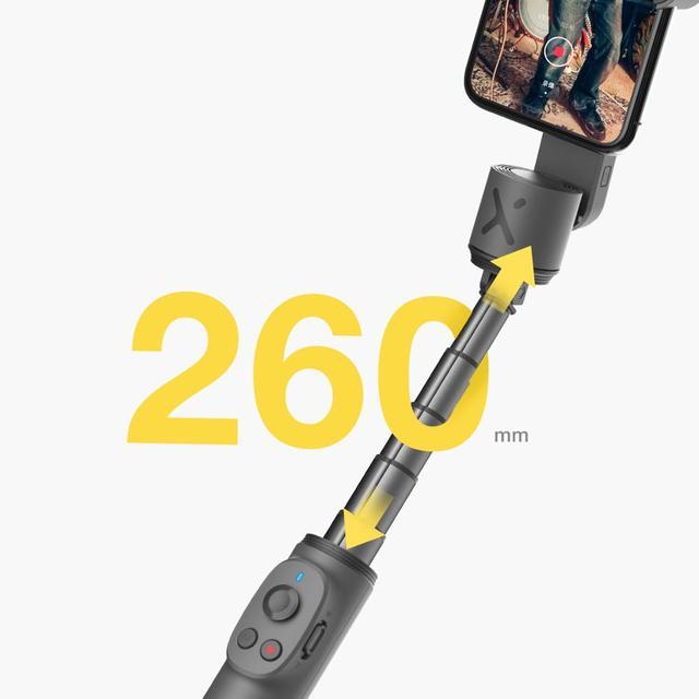 ZHIYUN oficial suave teléfono Gimbals Selfie Palo estabilizador de mano Palo teléfonos inteligentes para iPhone Huawei Xiaomi Redmi note de Samsung