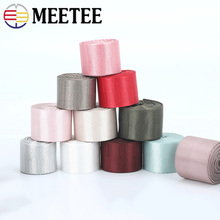 Meetee 5M 20-50mm Nylon Webbing Tape for Car Seat Belt Backpack Strap Ribbon DIY Luggage Binding Sewing Accessories