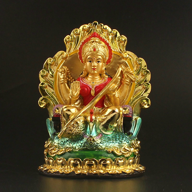 Great Auspicious Goddess La Lou Shimi Buddhist Supplies Indian Religious Goddess Tibetan Buddhram Merits Tianfa