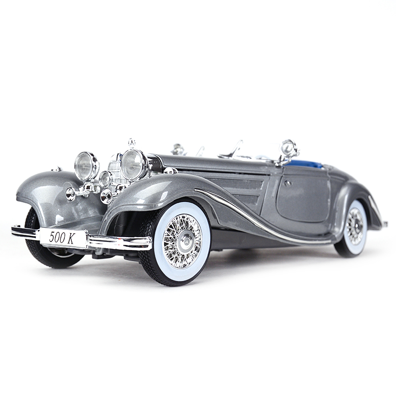 Maisto 1:18 1936 500K Typ Special Roadster Sports Car Static Simulation Diecast Alloy Model Car