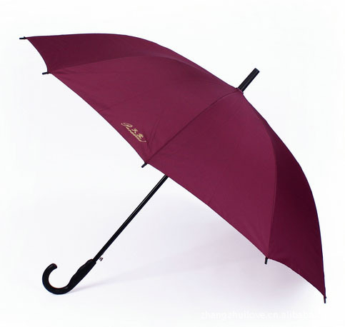 Paradise Umbrella 193E Touch/Automatic Steel Rib Straight Pole All-Weather Umbrella Extra Large Reinforced A Spin-dry Double Lon