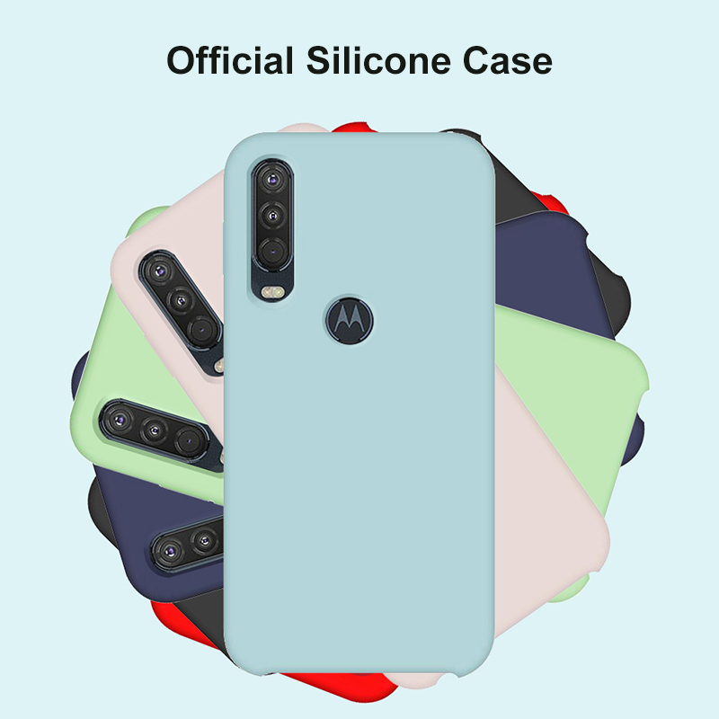 OEING Case Cover For Motorola Moto One Macro Action Power Zoom Vision P30 Play G6 G8 G7 Z3 Play Plus Case Soft Silicone Flannel