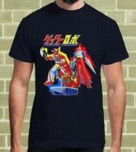T-Shirt pour hommes et enfants, ROBOT de l'espace, jet, Getter, Robo, dessin animé, années 80