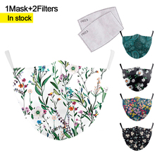 Mouth-Mask Anime Caroon-Printing Washable Cute Bacteria-Proof Pm2.5 Anti-Haze