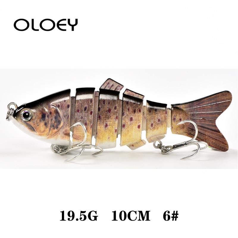 12 Segment Multi Jointed Fishing Lure Eel Lure Crank Baits Bass Swimbaits