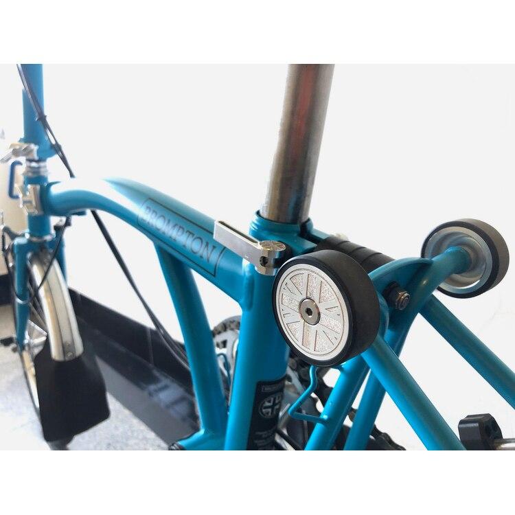 Titanium Axle Both QR Pedal Non Slip for Brompton Folding Bike 3SIXTY 220g//pair