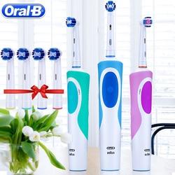 Cepillo de dientes eléctrico Oral B Sonic giratorio Vitality D12013 cepillo de dientes recargable higiene Oral cepillo de dientes cabezales de cepillo de dientes