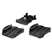 Rollei soporte de Base fija adhesivo plano curvado para cámara de acción Sony FDRX3000V X1000 AS300v 200V, accesorios básicos