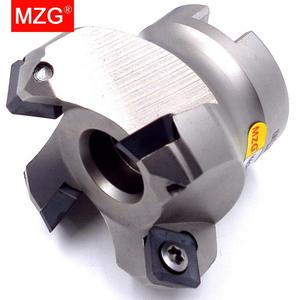 Image 3 - MZG KM12R50 22 4T Four SEKT1204 Carbide Insert Clamped Fast Feeding Alloy End Mill Milling Machining Slab Face Milling Cutter