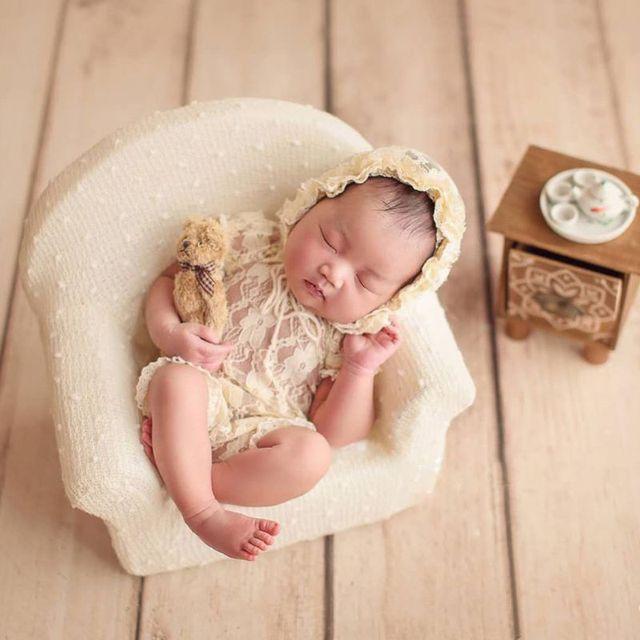 3 pièces/ensemble nouveau-né bébé posant Mini canapé fauteuil oreiller infantile photographie accessoire