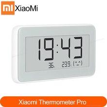 جديد شاومي Mijia بلوتوث استشعار درجة الحرارة الرطوبة E link شاشة LCD ميزان الحرارة الرقمي الرطوبة متر الذكية الربط Mi APP