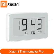 Yeni Xiaomi Mijia Bluetooth sıcaklık nem sensörü e link LCD ekran dijital termometre nem ölçer akıllı bağlantı Mi APP