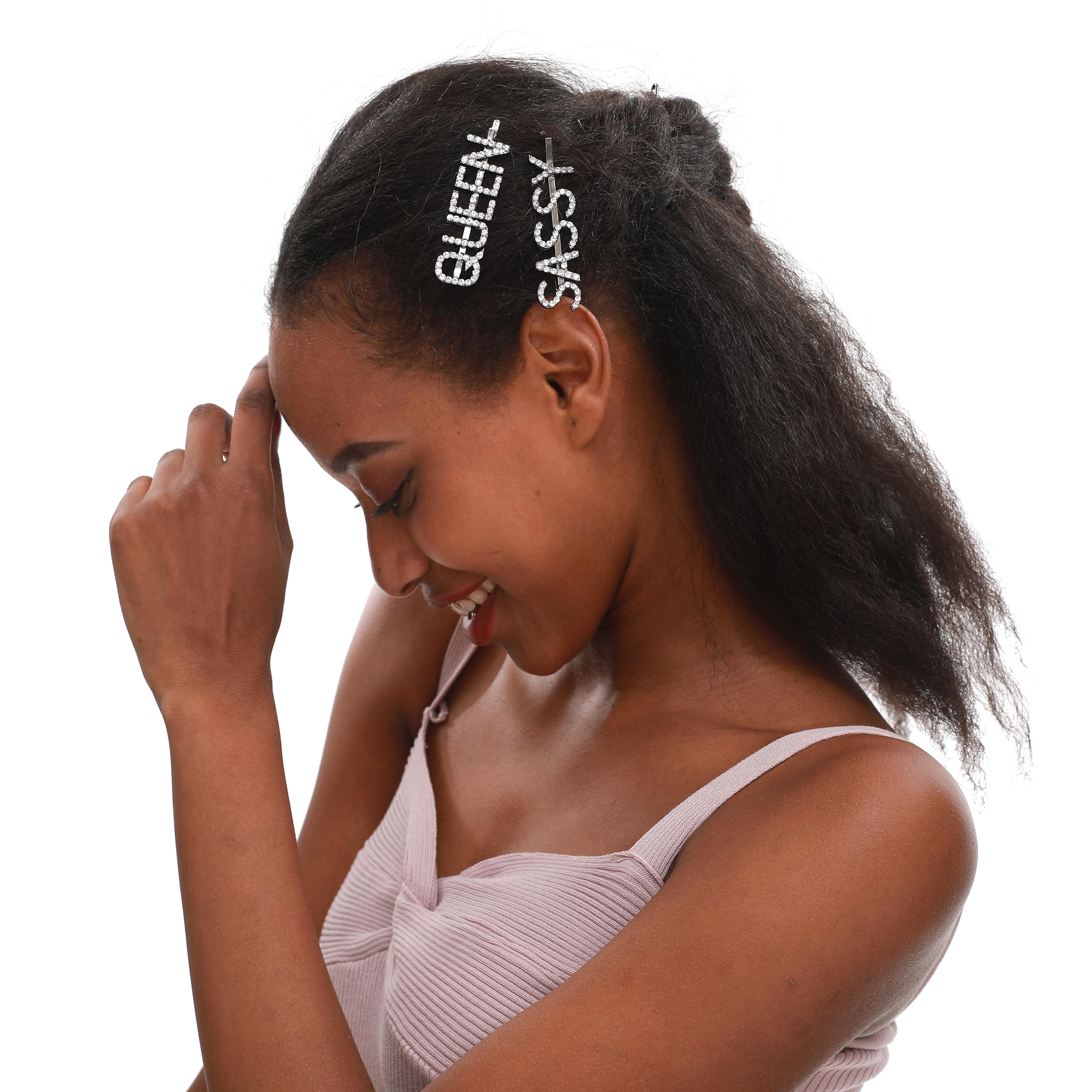 Новинка, популярные аксессуары для волос, блестящие заколки для волос, женские заколки для волос, заколки для волос, Прямая поставка, доступ...