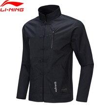 Li-Ning мужской BAD FIVE баскетбольное пальто свободного кроя полиэстер Тан подкладка костюма спортивные куртки AFDP181 MWJ2628