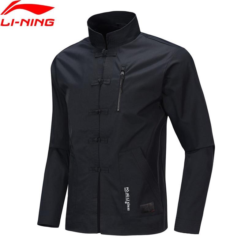 Li-Ning Men BAD FIVE Basketball Leisure Coat Loose Fit 100% Polyester Tang Suit li ning LiNing Sport Jackets AFDP181 MWJ2628
