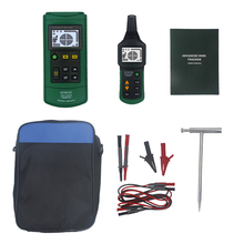MY6818 AC/DC 12-400V Cable Tracker Tester Finder Wire Short Circuit Breaker Fault Detector Metal Pipe Locator Detector Tester цена