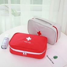 Grand sac Portable de Kit de premiers soins dextérieur, sac de trousse de premiers soins dextérieur, sac de secours pour la voiture, sac de survie médecine voyage