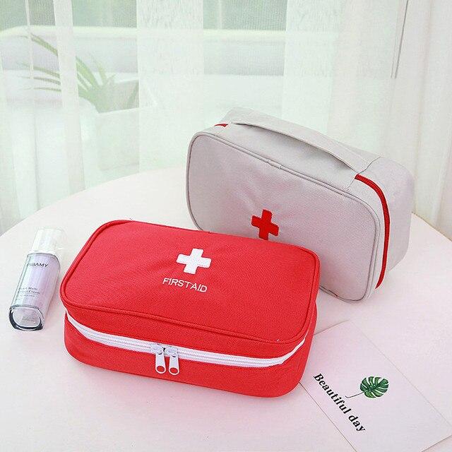 Portátil grande vazio do agregado familiar multi camada kit de primeiros socorros bolsa ao ar livre saco de primeiros socorros saco de sobrevivência medicina viagem saco de resgate