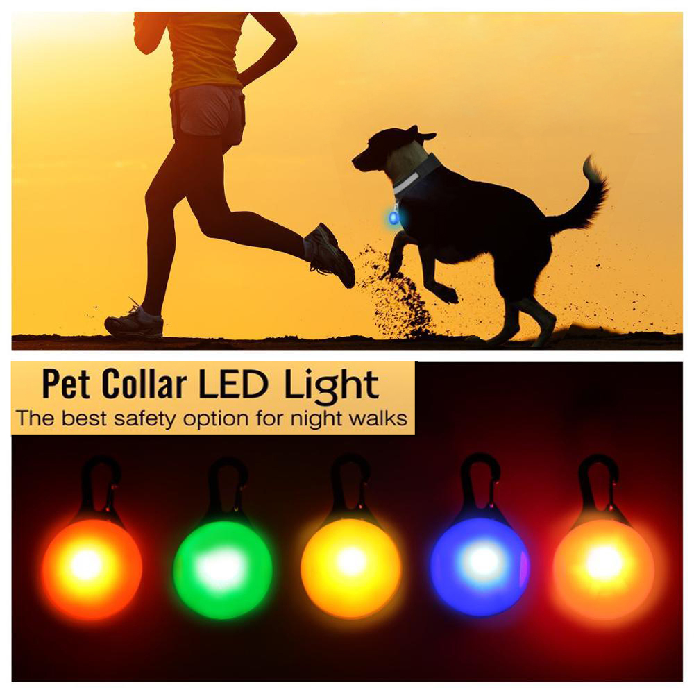 font b Pet b font Night Safety LED Flashlight Collar Dog Guide Bright Lights Glowing