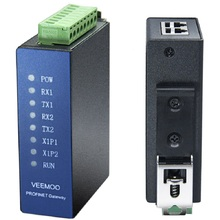 Modbus RTU Profinet 프로토콜 스위칭 게이트웨이 2 채널 485 프로그래밍 없음