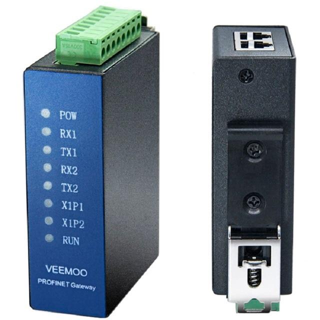 Modbus RTU to Profinet Protocol Switching Gateway 2 Channel 485 No Programming