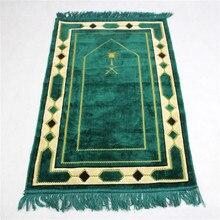 70*110Cm Cashmere Achtige Islamitische Moslim Gebed Mat Salat Musallah Gebedskleed Tapis Tapijt Tapete Banheiro Islamitische bidden Mat PM20
