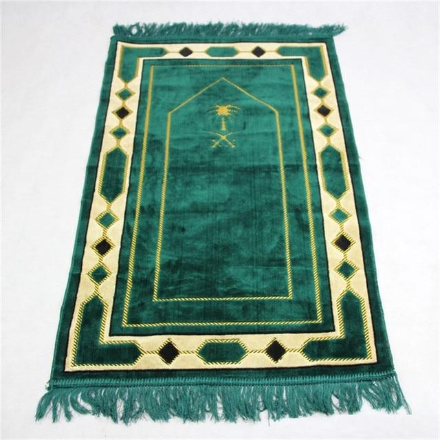 70*110cm Cashmere Like Islamic Muslim Prayer Mat Salat Musallah Prayer Rug Tapis Carpet Tapete Banheiro Islamic Praying Mat PM20