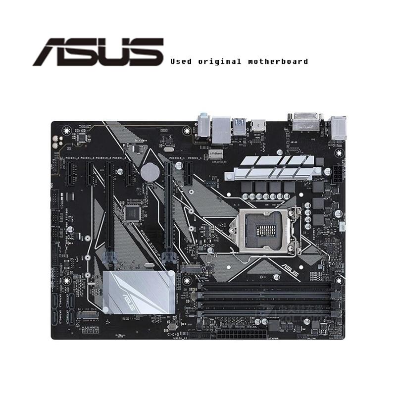 Pour ASUS PRIME Z370-P carte mère d'origine Socket LGA1151 DDR4 Z370 carte mère de bureau