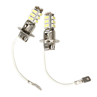 2 Pcs H3 Weiß 28 SMD Scheinwerfer Helligkeit Led-lampen DC12V Auto Auto Nebel Licht Lampe 3528 Lichter Scheinwerfer Birne ersatz