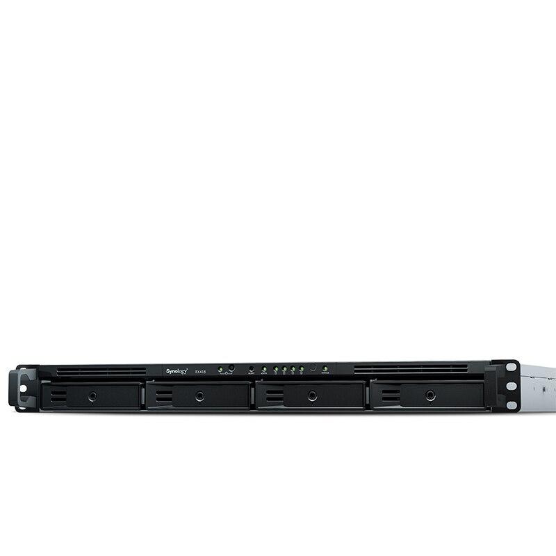 NAS Synology Rack Station RX418 4-bay diskless nas server festplatte expansion schrank 3 jahre garantie