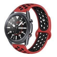 Ремешок сменный силиконовый для samsung galaxy watch 3 active
