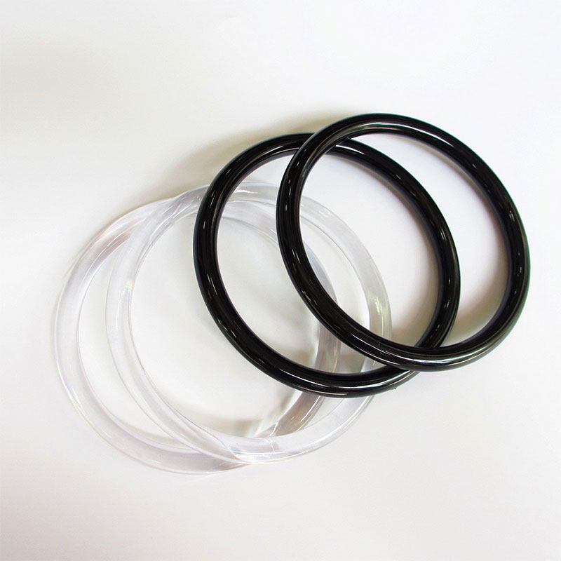 Plastic Round Ring Handle Replacement DIY Handbag Purse Making Shopping Tote Hardware Accessories Solid O-ring Bag Handle Strap