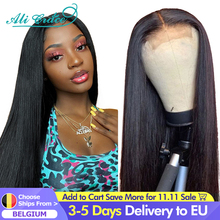 Ali Grace Straight Lace Closure Wigs 4x4 Closure Wig Human Hair Wigs With Baby Hair Brazilian 13x4 Lace Front Human Hair Wigs
