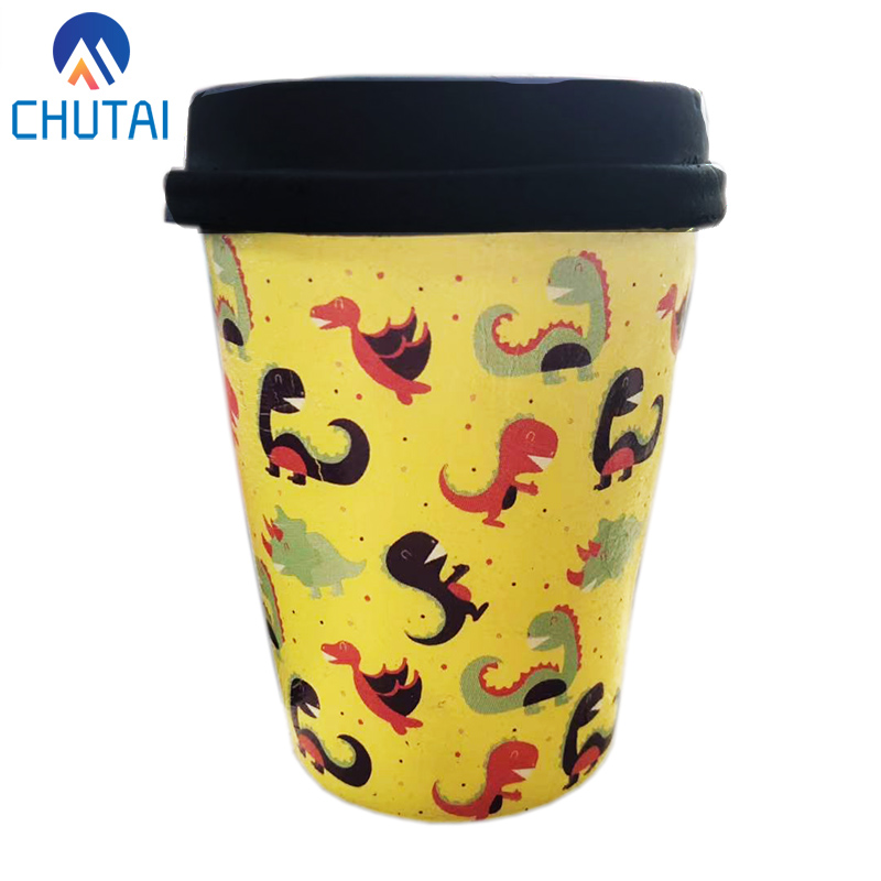 2019 New PU Simulation Dinosaur Coffee Cup Squishy Stress Reliever Squishy Slow Rising Squeeze Toys For Kids Adult 10*8CM